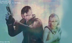 LeonxAshley Resident Evil Four by Risa-Sakusa-Strife