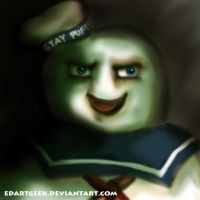 Don't Mess With Stay Puft by EdArtGeek