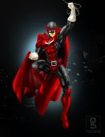 Commish 149: Red Falcon by rhardo