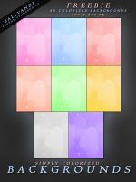 FREEBIE Colorized Backgrounds by PLArts