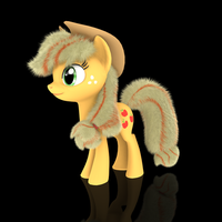 MLP Fluffy - AppleJack by VeryOldBrony