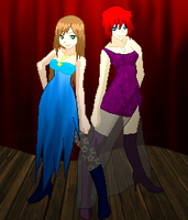 The Next Contestants- Ava and Sophie~ by Tabii-Chan