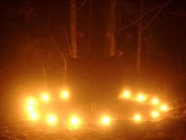 Wiccan Fire tradition by Minkish