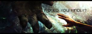 Would you kindly? by Grombo