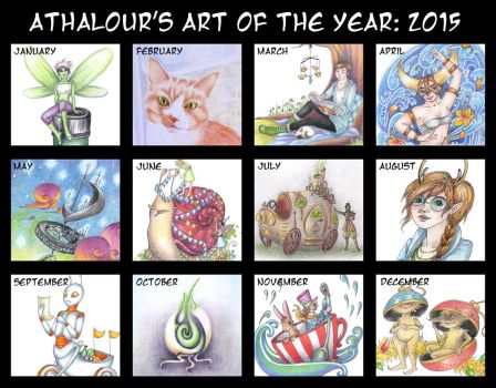 Summary Of Art 2015 by Athalour