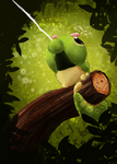 Caterpie used Stringshot by Dreamprotected