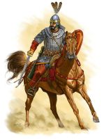 Byzantine Cavalry 6th C. AD by Fall3NAiRBoRnE