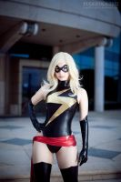 Ms Marvel cosplay by EnjiNight