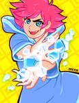 Mother 3 - Kumatora by Kaigetsudo