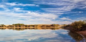 Reflecting at Mungo by FireflyPhotosAust
