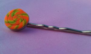 Neon Candy Bobby Pin by Gynecology
