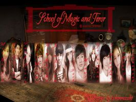 School of Magic and Terror by littlefaerish
