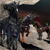 Outworld Horses by ShaoKahnsSlaveLilith