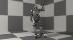 Cylon Soldier by WhosWho23
