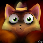 The Cat has seen hell by Leibi97