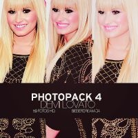 Photopack 4 - Demi Lovato by BieberDream