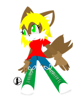 .:request:. Kaylie the wolf by elisonic12