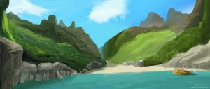 Secret Cove by putridCheese