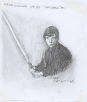 Luke Skywalker by Charmedsoul