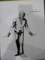 Ohio Sketch: Joker by AndrewKwan