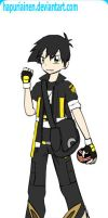 Pokemon Trainer: Blake Travis by DarkWolf210
