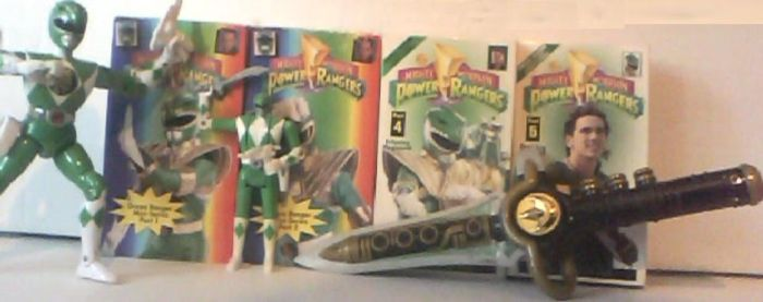 Green Ranger Collection by rgbfan475