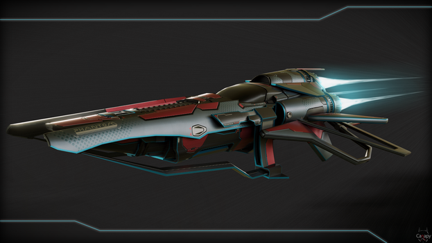 Racing ship by Canapy-3D