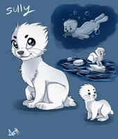 Sully SealBunny by VengefulSpirits