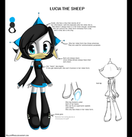 Lucia reference by HollowWings