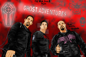 Ghost Adventures Crew by lizluvsanime2