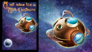 +Buenafortuna spaceship+ by Vampirneko