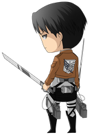 Mikasa's Male Version! by Syreii