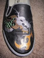 Dragon shoe close-up by SugiAi
