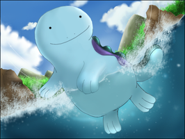 AC - Quagsire Art by nintendo-jr
