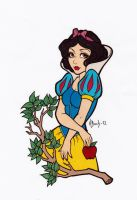 Snow White Colored by Maiko-Girl