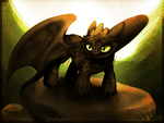 Toothless by Imalou
