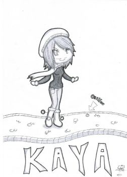 Kaya _ et le caillou by AngelxChao
