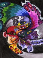 The Peacock by deeplycrashing