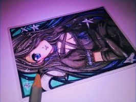 ACEO: Hecateslight 2/2 by Fukune