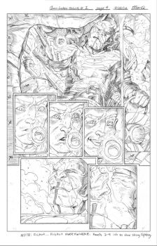 Green Lantern: Rebirth page 4 by comicbookCOOP