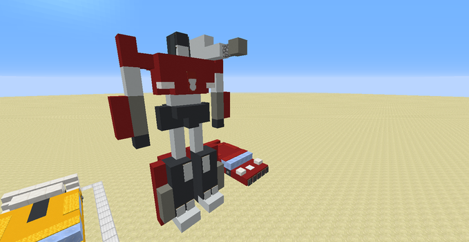 Sideswipe (A Minecraft 1.12.X Creation) by Omega-the-24th-Wixon