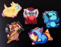 New Acrylic Charms by doingwell