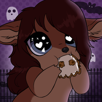 .:Used Base:. Mmm Halloween Cookies~ by ScottishRedWolf