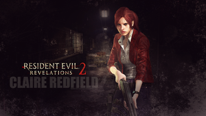 Claire Redfield wallpaper RE Rev 2 by Vicky-Redfield