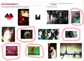 my art  in google by my-sweet-madness