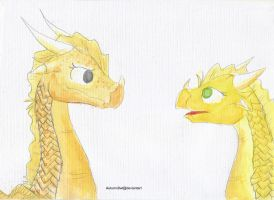 Thorn and Sunny by Autumn0wl