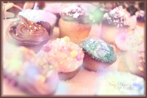 New Year's Cupcakes by Mazarde