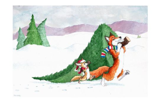 2009 Holiday Card Version 2 by ArchangelRobriel