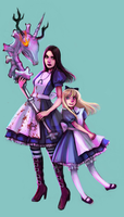 alice versus alice by anephilimrising