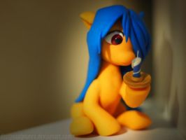 :Commission: OC Lumina Quill 3 by dustysculptures